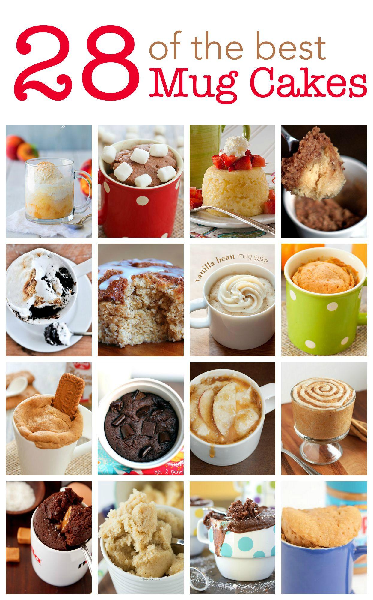 28 of the Best Mug Cakes