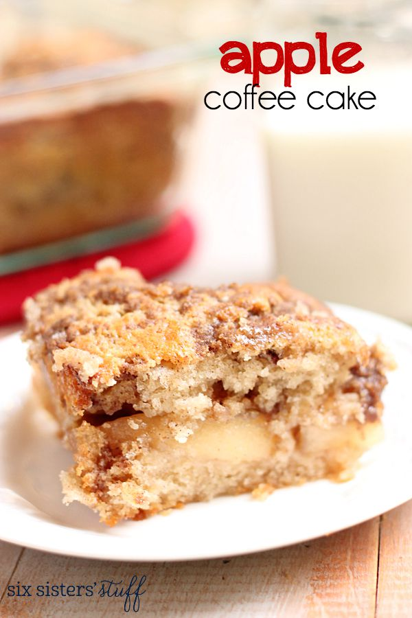 Canned Apple Pie Filling Coffee Cake Recipe
