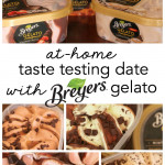 At-Home Taste Testing Date with Breyers Gelato Indulgences on SixSistersStuff.com
