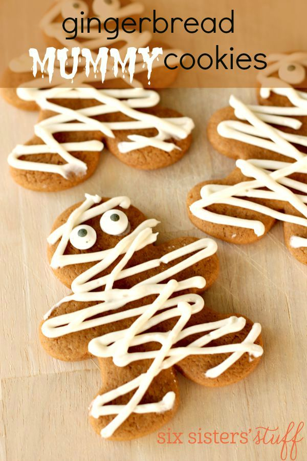 Gingerbread Mummy Cookies 2