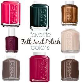 Six Sisters' Style: 15 Favorite Fall Nail Colors