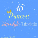 Princess Hairstyle Tutorials