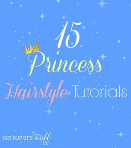15 Princess Hairstyle Tutorials