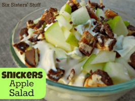 Snickers Apple Pudding Salad