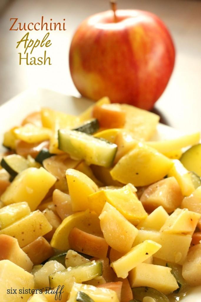 Zucchini Apple Hash