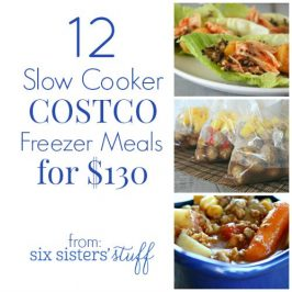 12 Slow Cooker Costco Freezer Meals for $130