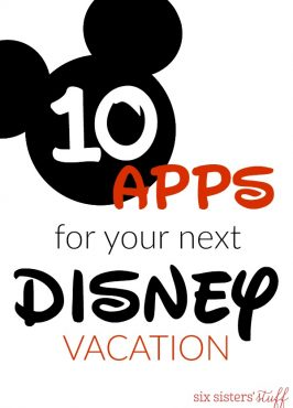 10+ Apps for Your Next Disney Vacation