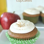 Apple Cider Cupcakes on SixSistersStuff.com