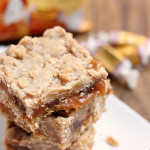 Caramel Oat Bars on Six Sisters' Stuff