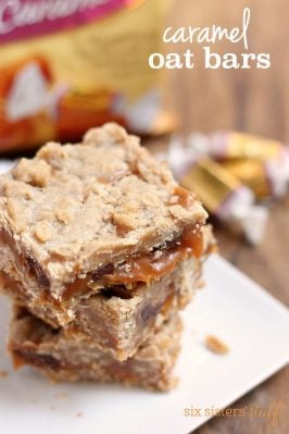 Caramel Oat Bars with Werther's® Original® Caramels
