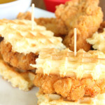 Chicken and Waffle Sliders from Six Sisters'