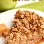 Disney Apple Caramel Pie