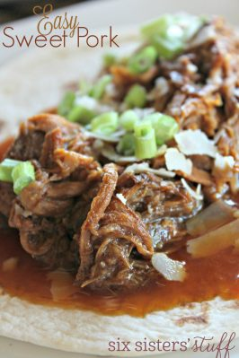 Easy Slow Cooker Sweet Pork