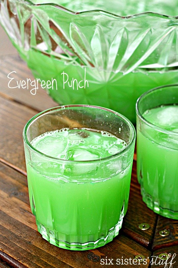 Evergreen Party Punch Six Sisters Stuff
