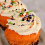 Halloween Brownie Cupcakes