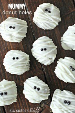 Mummy Donut Holes
