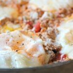 One Pan Egg and Turkey Skillet 1