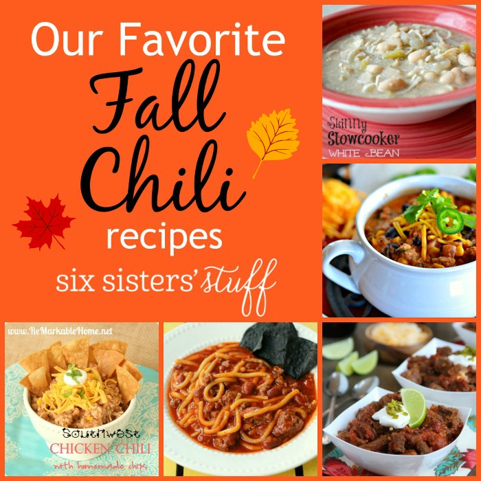 Our Favorite Fall Chili Recipes