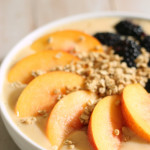 Peach Smoothie Bowl