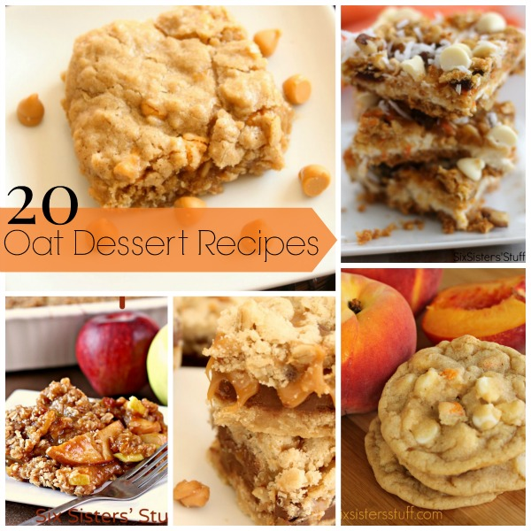 20 Oat Dessert Recipes