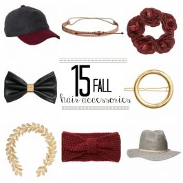 15 Favorite Fall Hair Accessories