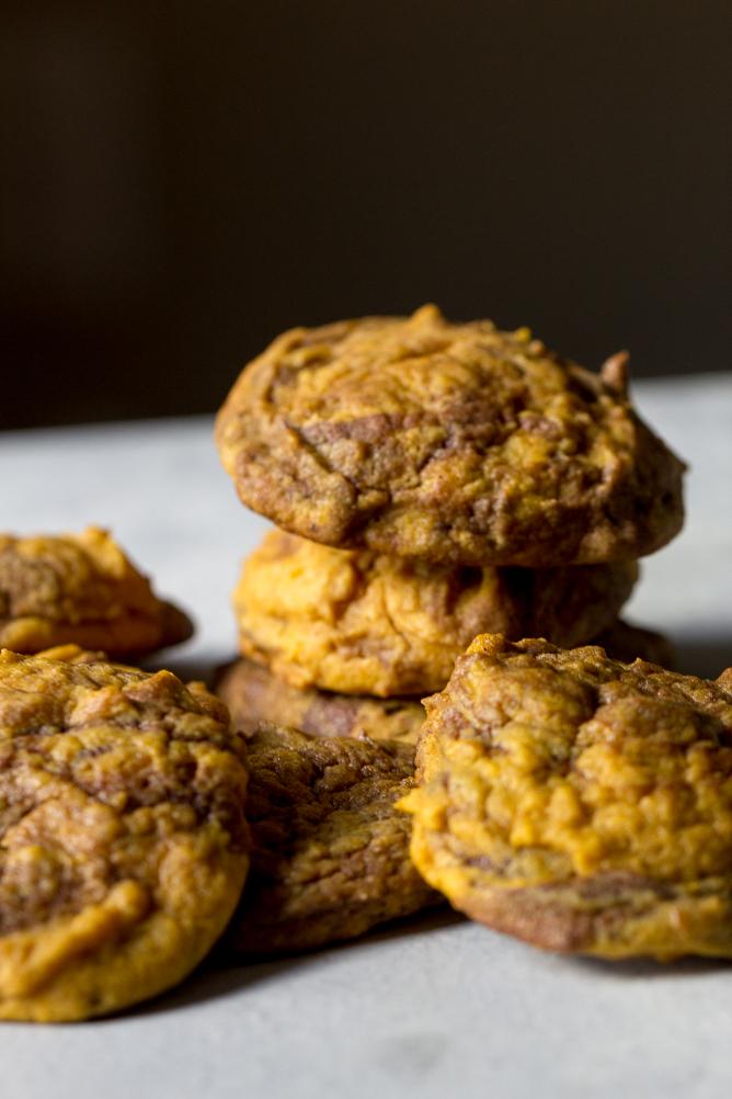 Nutella Pumpkin Cookies Recipe