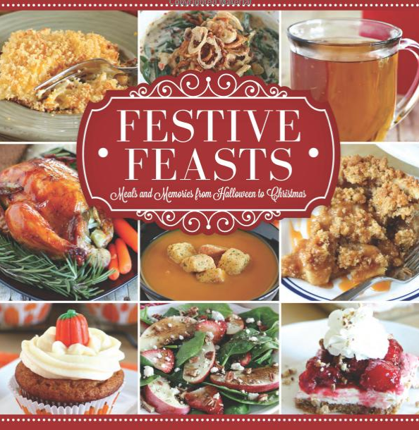 Festive feasts cookbook cover