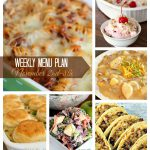 Weekly Menu Plan november 2-8