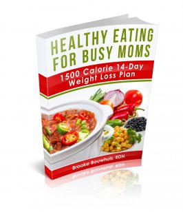 Busy Mom's Healthy Eating Plan – 1500 Calorie 14-Day Weight Loss Plan