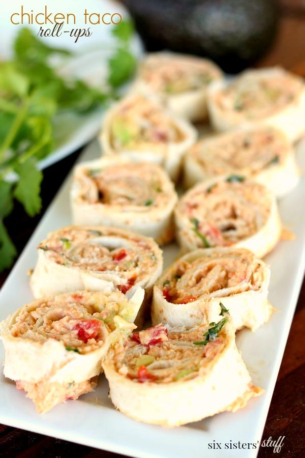 Chicken Taco Roll-ups