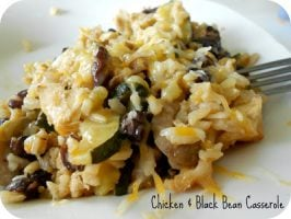 Healthy Meals Monday: Chicken and Black Bean Casserole Recipe
