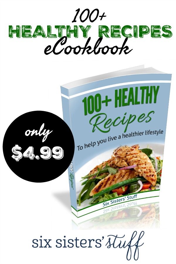 100+ Healthy Recipes eCookbook