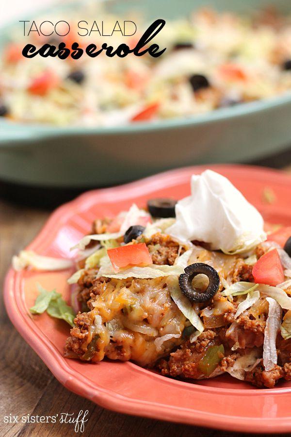 20-Minute Taco Salad Casserole