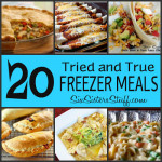 20 Tried and True Freezer Meals