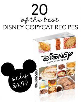 20 of the BEST Disney Copycat Recipes eBook
