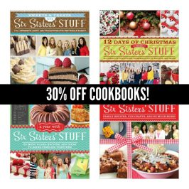 Six Sisters' Stuff Cookbook SALE!
