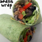 5 Rice and Beans Wrap