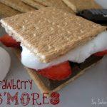5 strawberry smores
