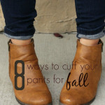 8 ways to cuff your pants for fall