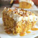 Caramel Pumpkin Poke Cake 1