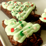 Christmas Tree Brownies from Six Sisters' Stuff