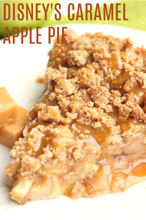 Disney S Apple Caramel Pie