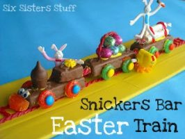 Snicker's Bar Easter Train