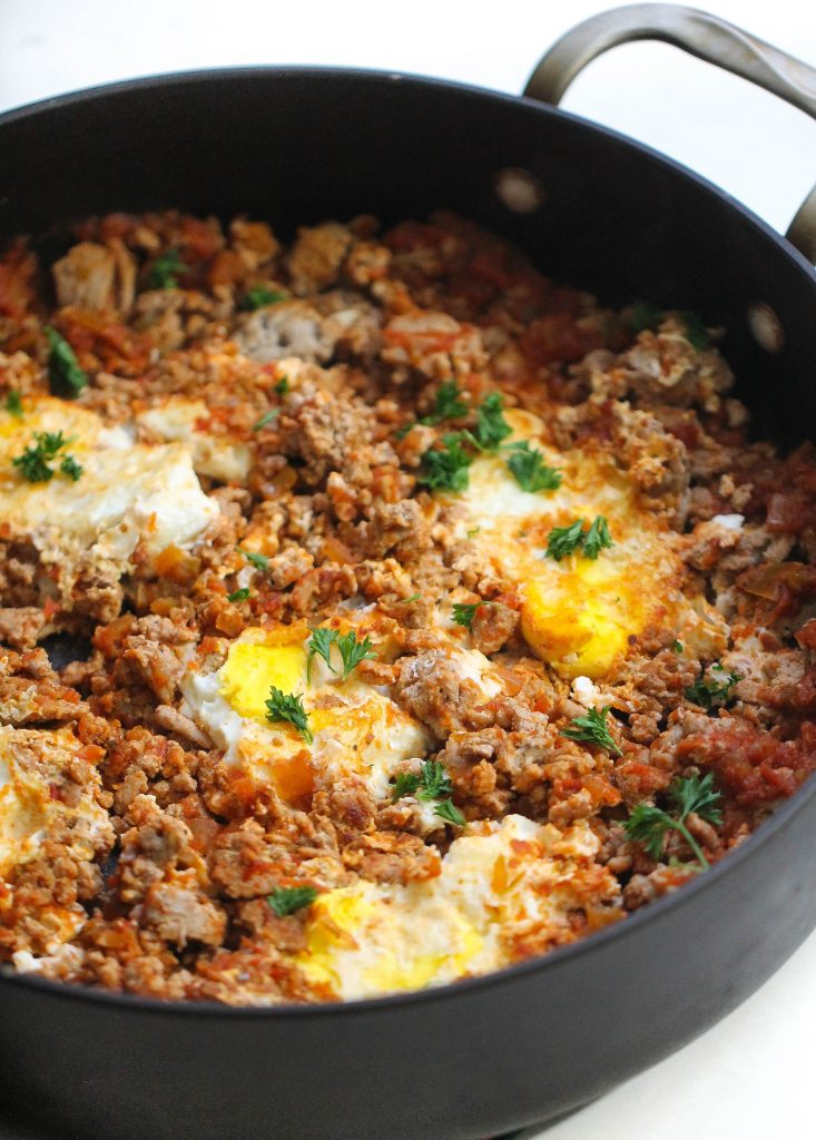 One Pan Egg And Turkey Skillet Six Sisters Stuff