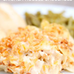 French Onion Chicken Noodle Casserole from SixSistersStuff.com