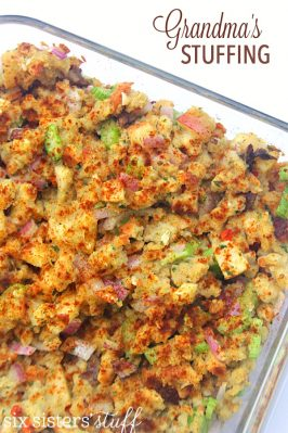 Grandma's Thanksgiving Dressing (Stuffing)