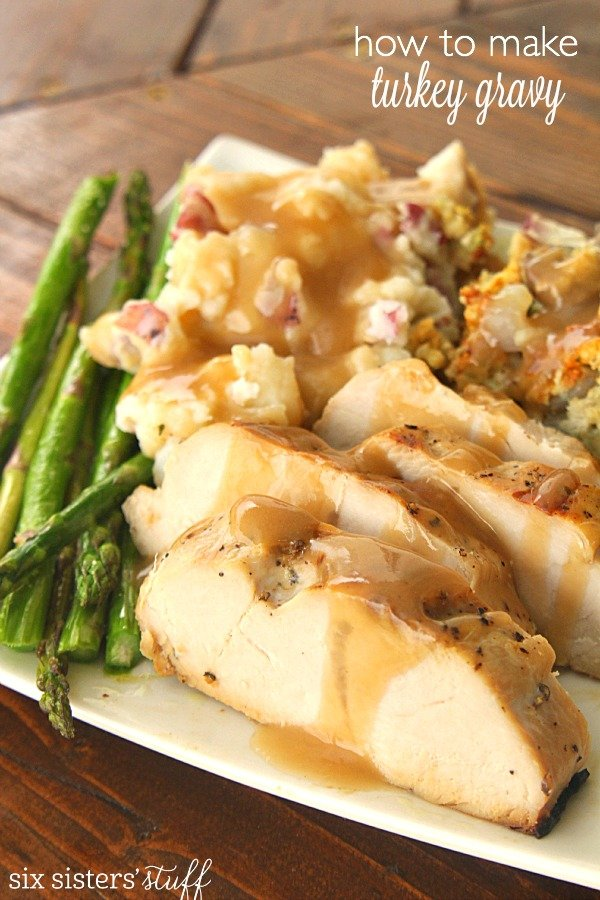 How To Make Turkey Gravy from Scratch