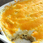 Leftover Thanksgiving Dinner Casserole on SixSistersStuff.com