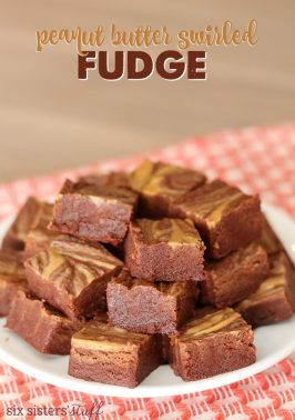 Peanut Butter Swirled Fudge Recipe