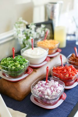 How To Set Up A Baked Potato Bar